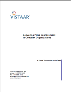Delivering Price Improvement in Complex Organizations
